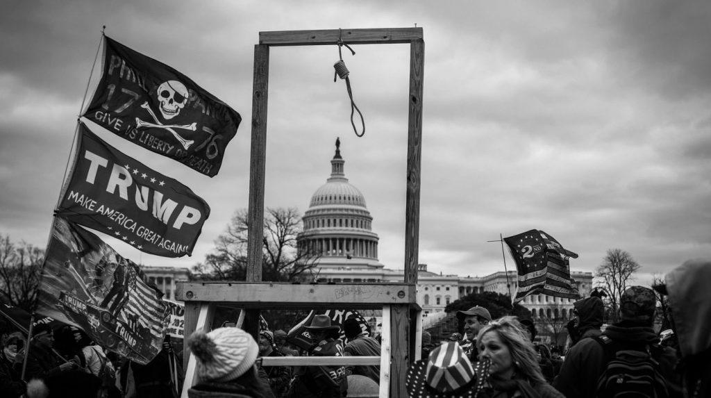 galg op het capitool als politieke revolutie